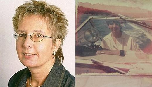 Hình ảnh vợ Manfredlà bà Claudia, ngườiđã mất vì ung thư. Ảnh: Dailymail