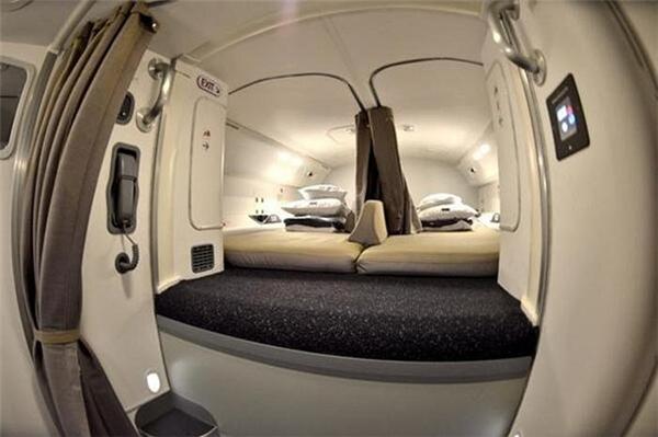Khoang nghỉ trên máy bay787 Dreamliner. (Ảnh: Internet)