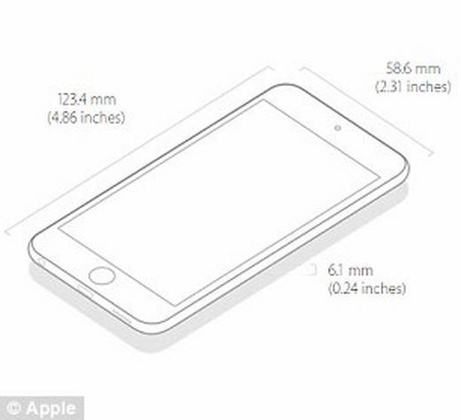 Bằng sáng chế mới cho thấy iPhone 7 mỏng hơn. (Ảnh: Internet)