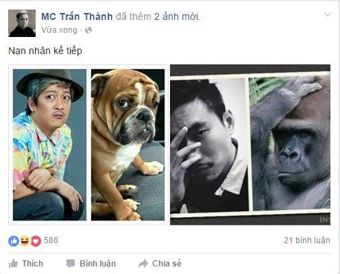 """Sau Thu Trang, Trường Giang trở thành """"nạn nhân"""" của Trấn Thành - Tin sao Viet - Tin tuc sao Viet - Scandal sao Viet - Tin tuc cua Sao - Tin cua Sao"""