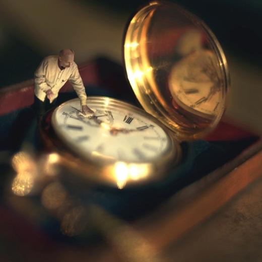 Đồng hồ ông nội.(Ảnh: Fiddle Oak)