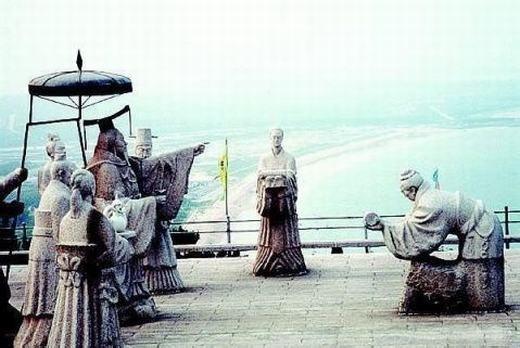 Tần Thủy Hoàng chỉ đạo Từ Phúc tìm thuốc trường sinh.