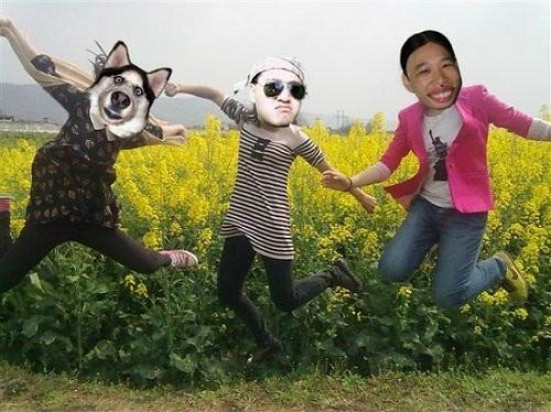 """Qua photoshop trở thành 3 người có nhan sắc """"lạ"""". (Ảnh: Internet)"""