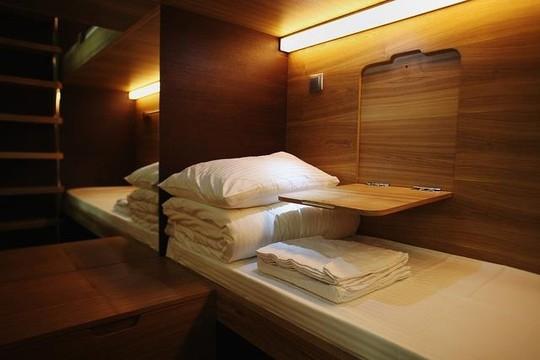 Tại đây có cả phòng đơn và phòng đôi cho mọi người lựa chọn.(Ảnh: Internet)