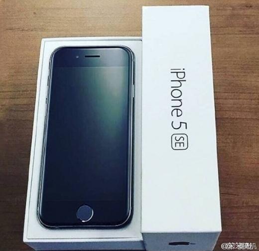 Hình ảnh được cho là mẫu iPhone 5se.
