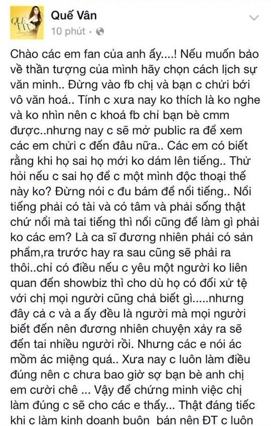 Quế Vân tung đoạn hội thoại Trường Giang nhận sống nhục - Tin sao Viet - Tin tuc sao Viet - Scandal sao Viet - Tin tuc cua Sao - Tin cua Sao