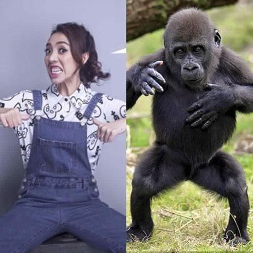 """""""Hoa hậu hài"""" còn bị so sánh với khỉ"""