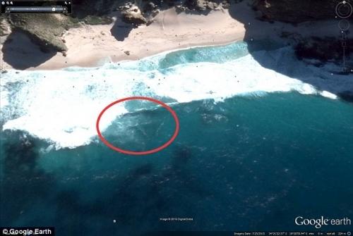 Hình ảnh vệ tinh cho thấy xác MH370 đang ở Mũi Hảo Vọng?