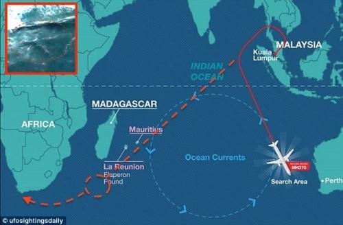 MH370 có thể đã trôi dạt đến Mũi Hảo Vọng?