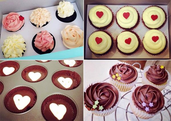 """Mint thu hút giới trẻ bởi không gian trẻ trung, dễ thương với những chiếc bánh cupcake """"không yêu không được"""". (Ảnh: Internet)"""