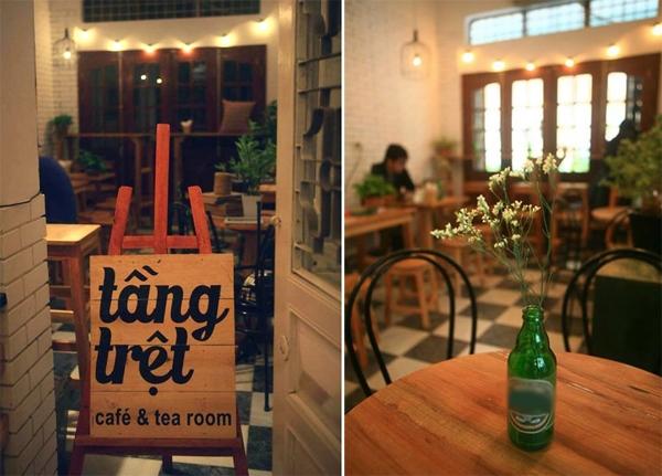 Tầng trệt hiện có 2 cơ sở nằm trên đường Nghĩa Tân, và Khúc Hạo,từlâu đã là điểm hẹn được rất nhiều bạn trẻ ưa chuộng. (Ảnh: Internet)