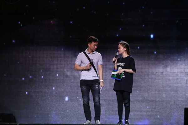 Cặp đôi MC của chương trình Thành Trung - Yến Trang. - Tin sao Viet - Tin tuc sao Viet - Scandal sao Viet - Tin tuc cua Sao - Tin cua Sao