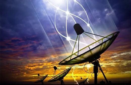 Trái đất vừa nhận được tín hiệu từ vũ trụ. (Ảnh: Internet)