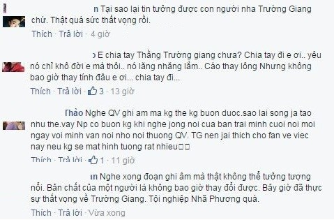 Nhiều bình luận trái chiều về Trường Giang từ fan Nhã Phương. - Tin sao Viet - Tin tuc sao Viet - Scandal sao Viet - Tin tuc cua Sao - Tin cua Sao