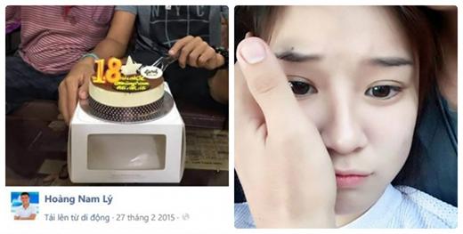 Xét móng tay và đầu ngón tay cái, nhiều người hâm mộ đã xác định đó là tay của Lý Hoàng Nam. (Ảnh: Internet)
