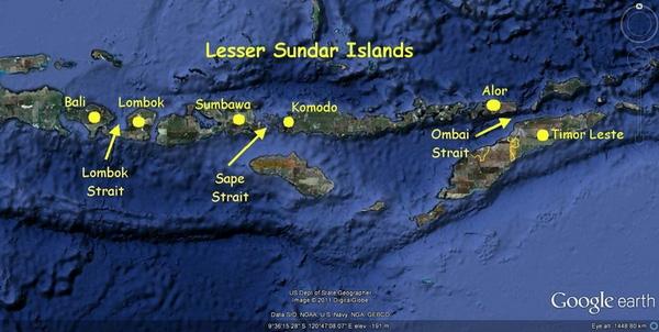 Hòn đảo này là nơi loài rồng thực sự tồn tại