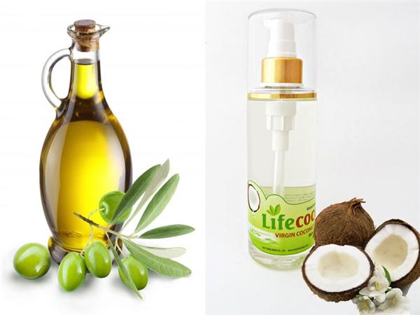 Dầu ô liuvà dầu dừa là những nguyên liệu phục hồi và dưỡng ẩm tốt nhất dành cho tóc khô xơ. (Ảnh: Internet)