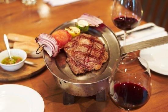 Bò beefsteak – El Gaucho, Hai Bà Trưng, quận 1.(Ảnh: Internet)