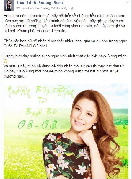 """Thanh Thảo hạnh phúc đón 8/3, đồng thời cũng là ngày sinh nhật của nữ ca sĩ """"búp bê"""" - Tin sao Viet - Tin tuc sao Viet - Scandal sao Viet - Tin tuc cua Sao - Tin cua Sao"""