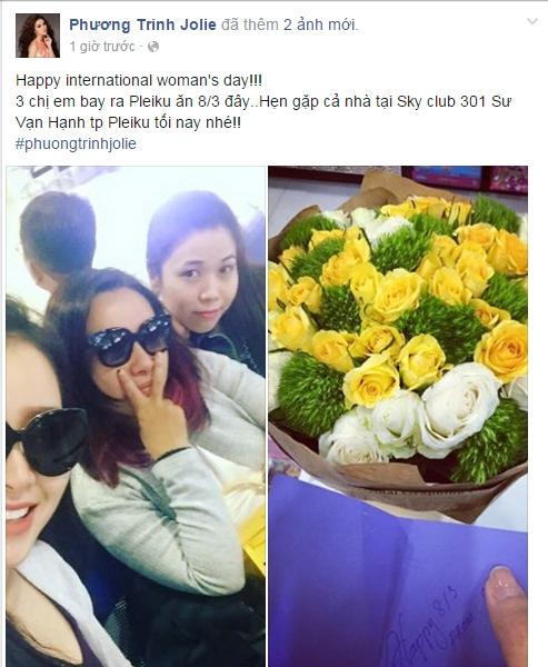 Nữ ca sĩ Jolie Phương Trinh sẽ tận hưởng ngày 8/3 tại Pleiku. - Tin sao Viet - Tin tuc sao Viet - Scandal sao Viet - Tin tuc cua Sao - Tin cua Sao