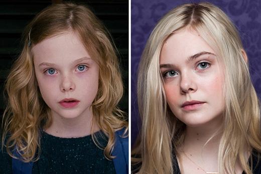Elle Fanning cũng không chịu thua kém bà chị của mình khi đã đặt chân vào con đường diễn xuất từ khi còn rất nhỏ, đóng các vai nhí trong hàng loạt phim được giới phê bình đánh giá cao như Babel (2006), Reservation Road (2007), The Curious Case of Benjamin Button (2008), Super 8 (2011), Maleficent (2014)… Với ngoại hình xinh đẹp và cao lớn (hơn hẳn chị mình), sự nghiệp của Elle Fanning hứa hẹn sẽ còn tiến xa.
