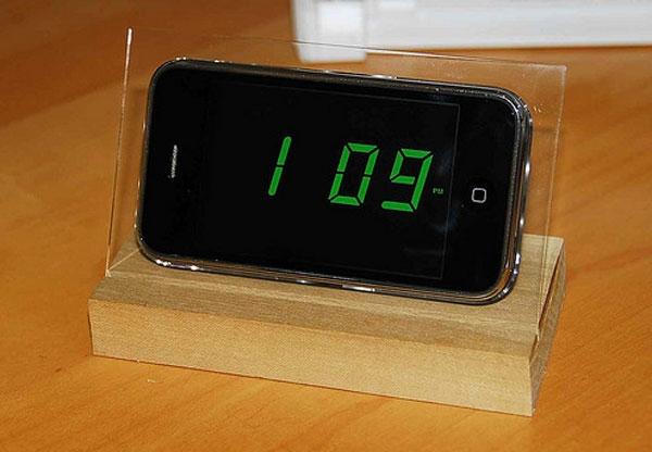 """Một chiếc đồng hồ báo thức """"siêu"""" hiện đại và sáng tạo dành cho bạn. (Ảnh: Internet)"""