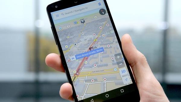 GPS giúp bạn không còn lo lắng trong việc di chuyển. (Ảnh: Internet)