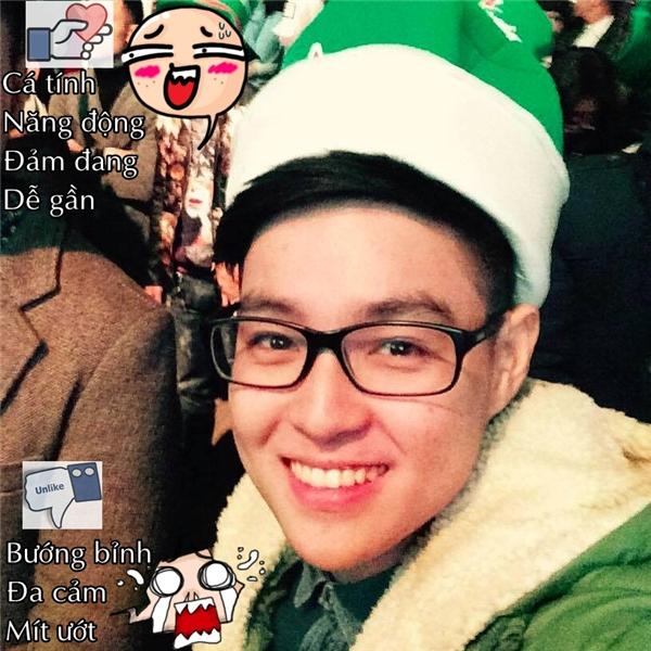 """Chàng sinh viên của Học viện Hành chính Quốc giaCao Longthì lại bị """"đánh gục"""" bởi những tin nhắn ngọt ngào cùng tài nấu ăn """"xuất chúng"""" của bạn gái. (Ảnh: Internet)"""