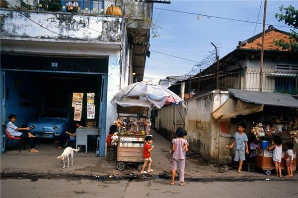 Thời điểm này, Sài Gòn vẫn chưa có nhiều nhà cao tầng hiện đại như bây giờ.