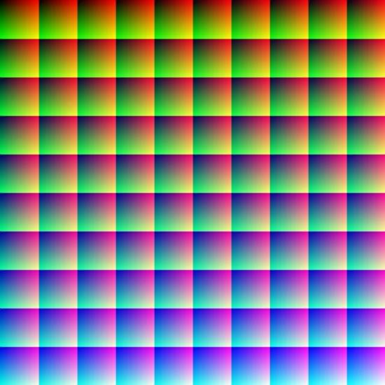 Mắt có thể nhận biết rất nhiều màu khác nhau mà bạn không thể ngờ. (Ảnh: Internet)