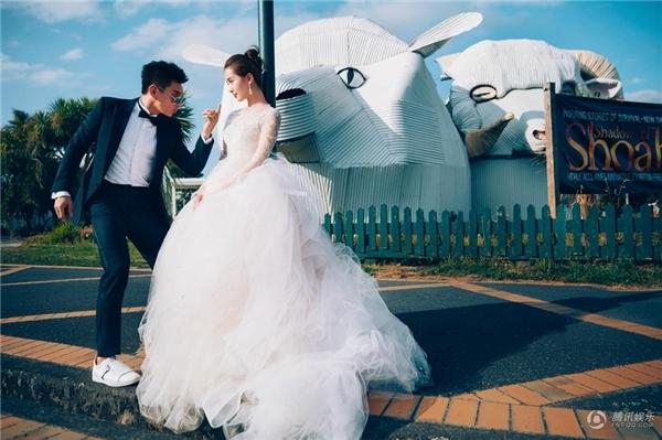 Ngắm bộ ảnh cưới đẹp như mơ của vợ chồng Ngô Kỳ Long - Lưu Thi Thi