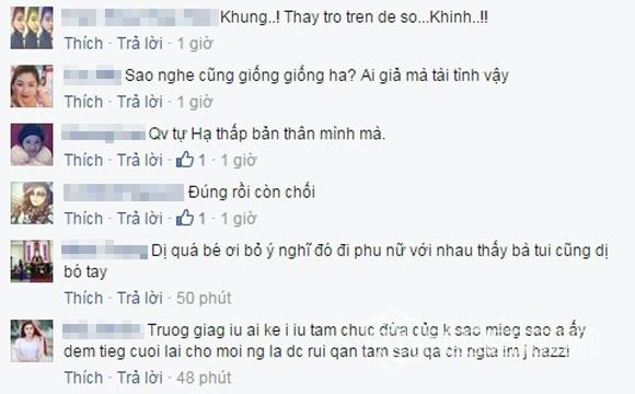 Dòng trạng thái trên trang cá nhân của Trường Giang nhanh chóng nhận được sự ủng hộ của cộng đồng mạng. (Ảnh: Internet) - Tin sao Viet - Tin tuc sao Viet - Scandal sao Viet - Tin tuc cua Sao - Tin cua Sao