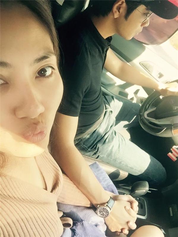 Hình ảnh ngọt ngào của Ngọc Lan và bạn trai. - Tin sao Viet - Tin tuc sao Viet - Scandal sao Viet - Tin tuc cua Sao - Tin cua Sao