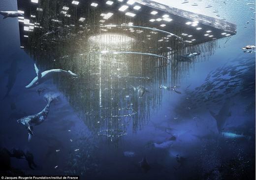 Ý tưởng vườn thú nhân tạo có tên gọi BiodiverCity. Tổ hợp này sẽ có thêm các rặng san hô nhân tạo cho các động vật biển đến sinh sống.