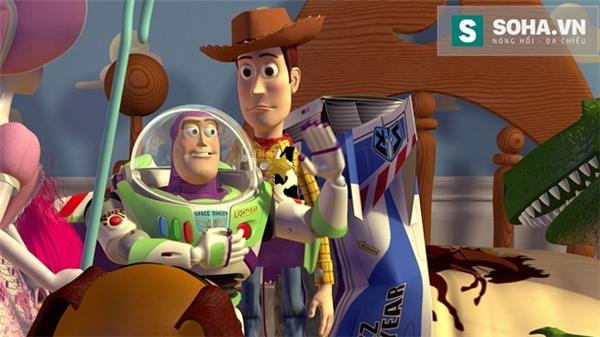 Một cảnh trong phim Toy Story (1995).