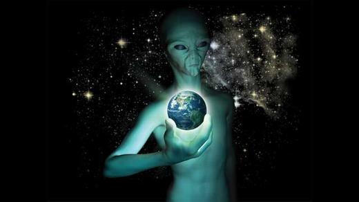 Người ngoài hành tinh đang tồn tại... (Ảnh: Internet)