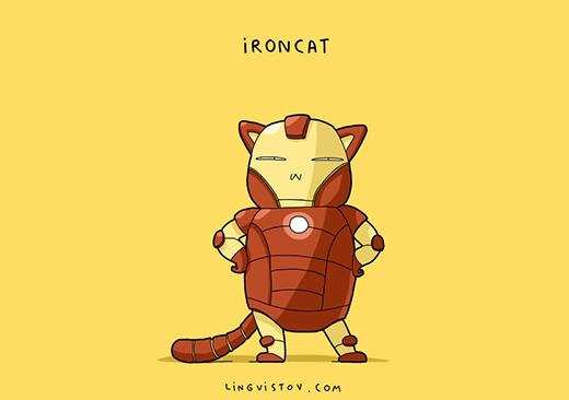 """""""Anh dù là mèo nhưng cũng là tỉphú mèo đấy nhé."""" (Ảnh: Lingvistov)"""