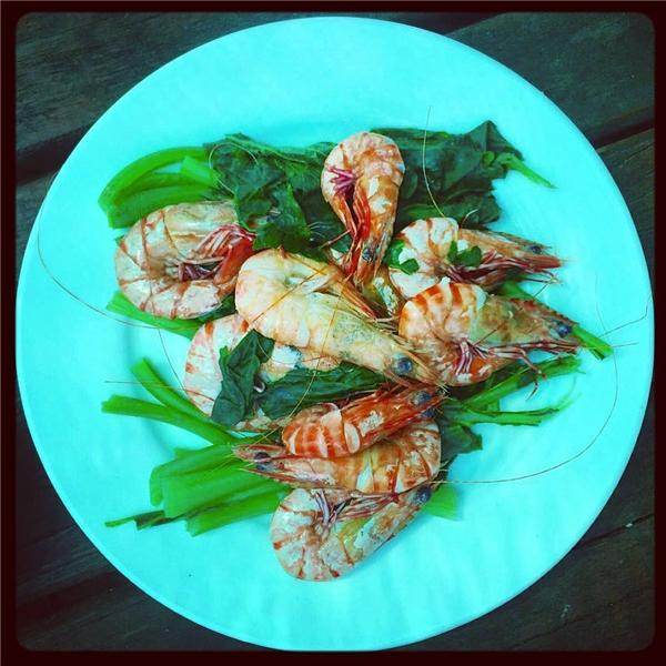 Hải sản luôn tươi ngon, hấp dẫn. (Ảnh: Instagram)