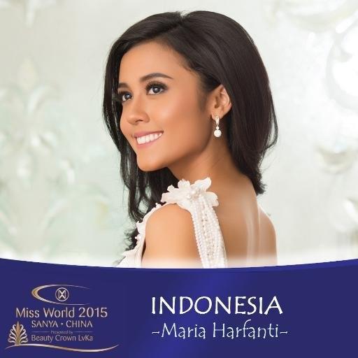 Á hậu 2 Hoa hậu Thế giới 2015 - Maria Harfanti (Indonesia) - Tin sao Viet - Tin tuc sao Viet - Scandal sao Viet - Tin tuc cua Sao - Tin cua Sao
