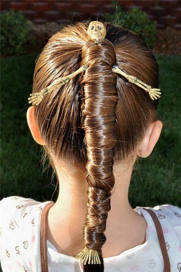 Mái tóc xương người đơn giản mà tinh tế. (Ảnh: Internet)