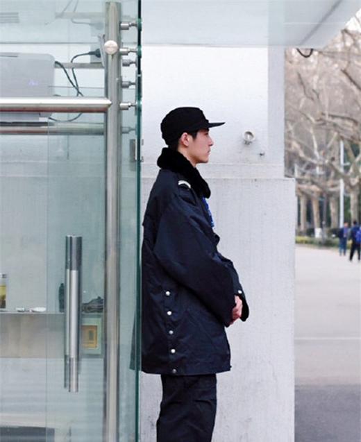 Anh chàng đã gây ấn tượng cho khá nhiều người ở đại học Nam Kinh. (Ảnh: Internet)