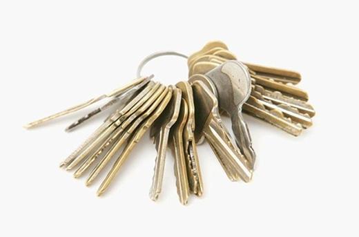 """Chùm chìa khóa sẽ cho ra một """"cú đấm thép"""". (Ảnh: Internet)"""
