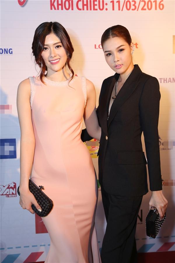 Kỳ Hân khoe vẻ cá tính bên nữ diễn viên trẻ Huỳnh Tiên. - Tin sao Viet - Tin tuc sao Viet - Scandal sao Viet - Tin tuc cua Sao - Tin cua Sao