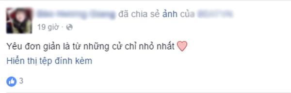Chia sẻ của hai bạn A.V.N và Đ.H.G. (Ảnh: Ảnh chụp màn hình từ FBNV)