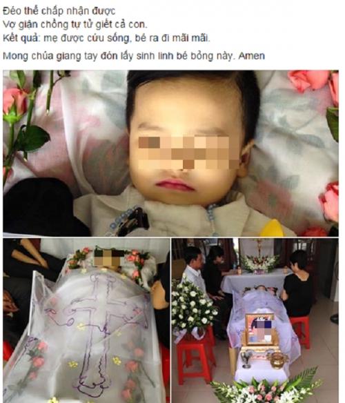 Hình ảnh kèm theo sự việc được K.L chia sẻ trên mạng xã hội gây phẫn nộ