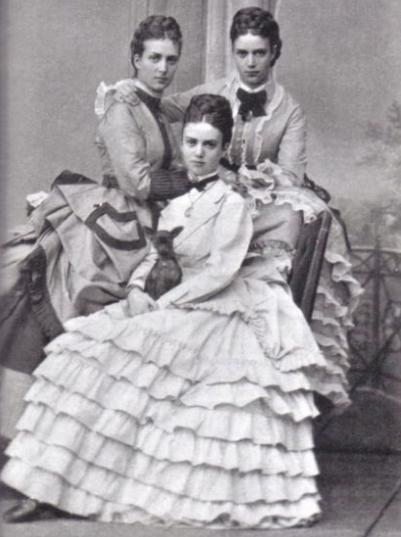 Vẻ đẹp mười phân vẹn mười của ba nàng công chúa, con vua Christian IX, Đan Mạch.(Ảnh: Internet)