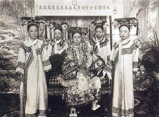 Một điển hình của nhan sắc cung tần mĩ nữ Trung Quốc xưa - Từ Hy Thái Hậuthời nhà Thanh.(Ảnh: Internet)