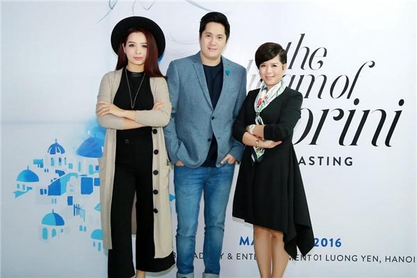 Cựu người mẫu Thúy Hằng là một trong những giám khảo của buổi casting lần này. - Tin sao Viet - Tin tuc sao Viet - Scandal sao Viet - Tin tuc cua Sao - Tin cua Sao