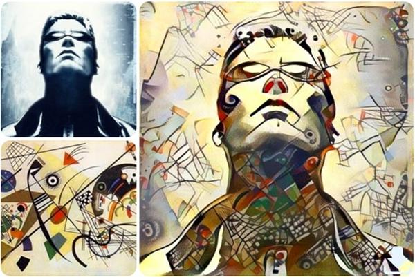 Kẻ Hủy Diệtdưới nét cọ của Picasso thì sẽ trông như thế này đây... (Ảnh: Internet)