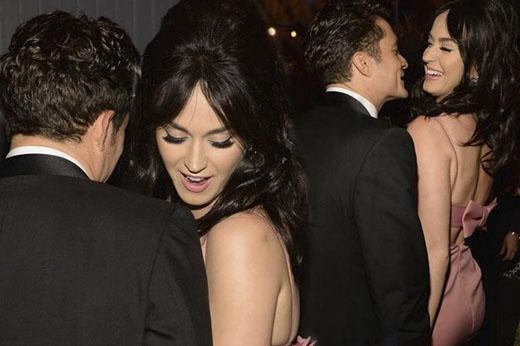 Katy Perry và Orlando Bloom nảy nở tình yêu sau lễ trao giải Quả cầu vàng hồi tháng 1. (Ảnh: Internet)